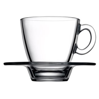 Glass Tea Cup, double-walled