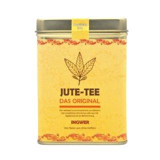 Jute-Tee Ingwer Teedose