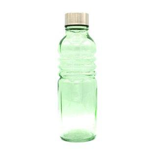 Glasflasche Bill grün