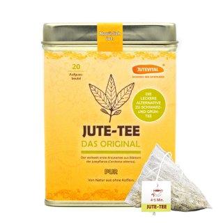 Jute-Tea Pure Tea Bag in Tea Can
