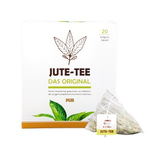 Jute-Tea Pure Tea Bag in Carton