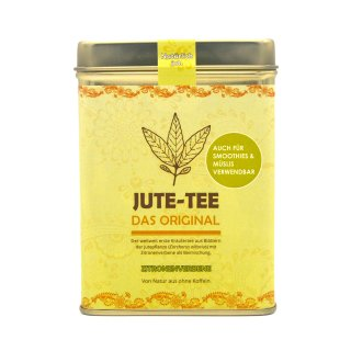Jute-Tee Zitronenverbene Teedose