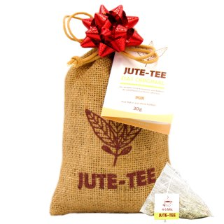 Jute-Tea Pure Tea Bag in Jute Pouch