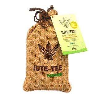 Jute-Tee Minze Jutesäckchen