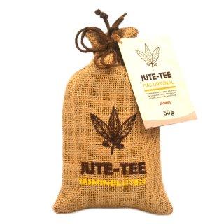 Jute-Tea Jasmine Jute Pouch